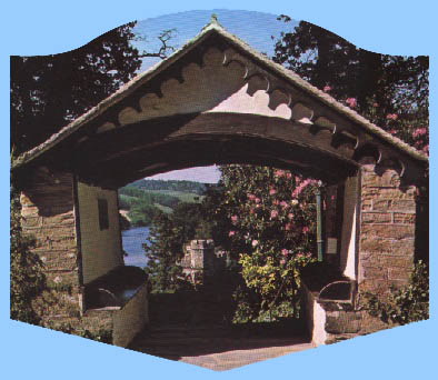 The Lychgate at St Just in Roseland Church