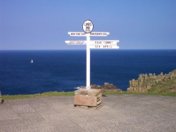 The Lands End signpost